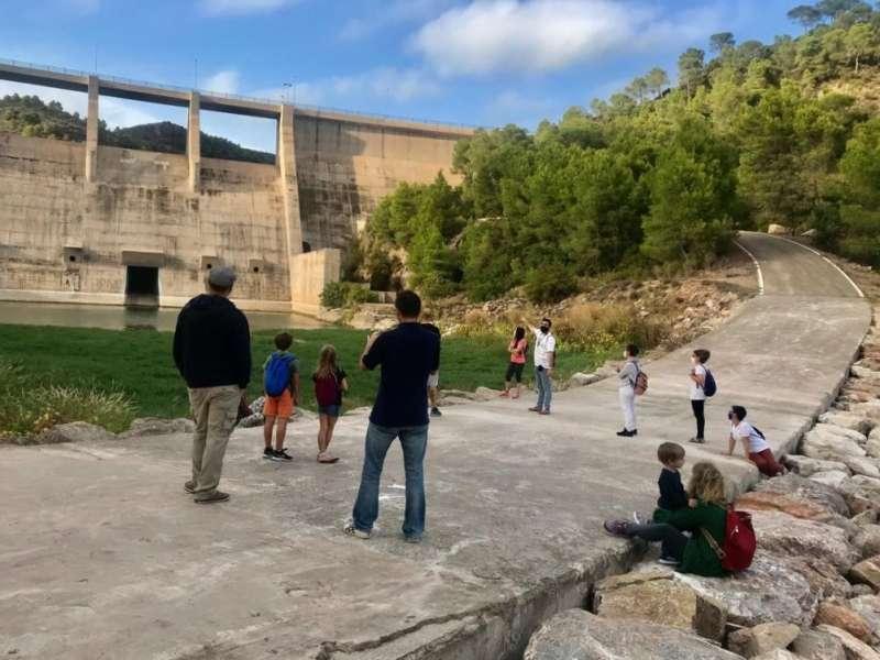Visita a la presa de Algar.