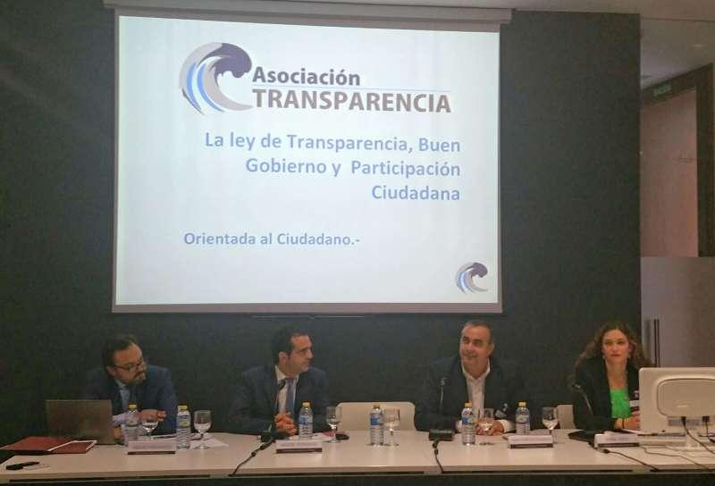 Instante de la Jornada sobre la Ley de Transparencia