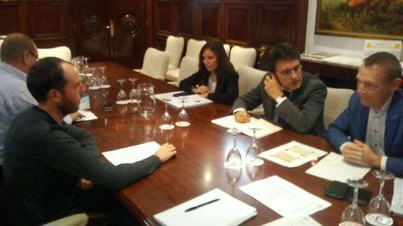 En el transcurso de una reunión mantenida en la sede del MAPAMA en Madrid.