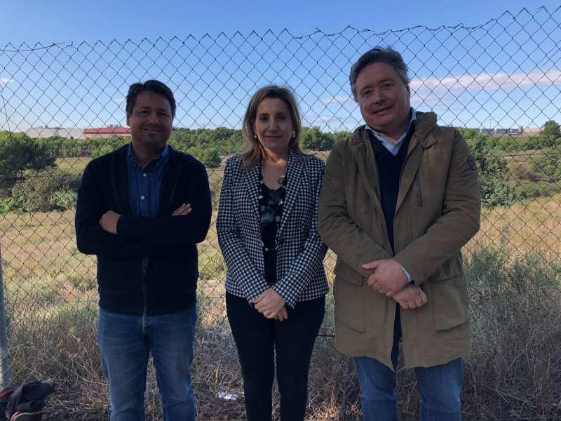 Javie Montero, María Villajos y Luis Santamaría