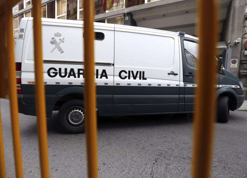 Furgón de la Guardia Civil. EFE/Archivo