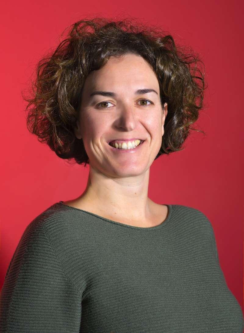 La secretaria de organización provincial del PSOE, Estíbaliz Pérez