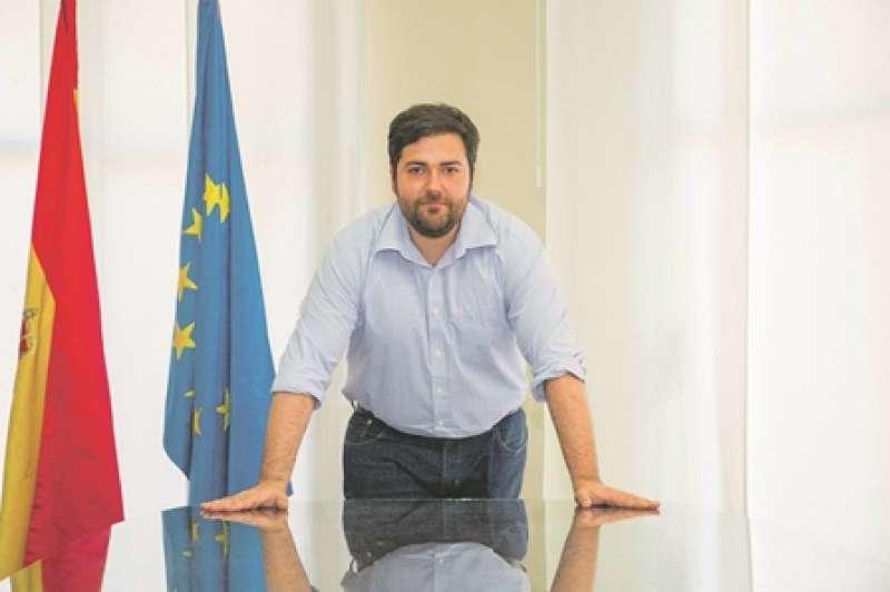 Fran López, alcalde de Rafelbunyol (PSPV-PSOE). EPDA