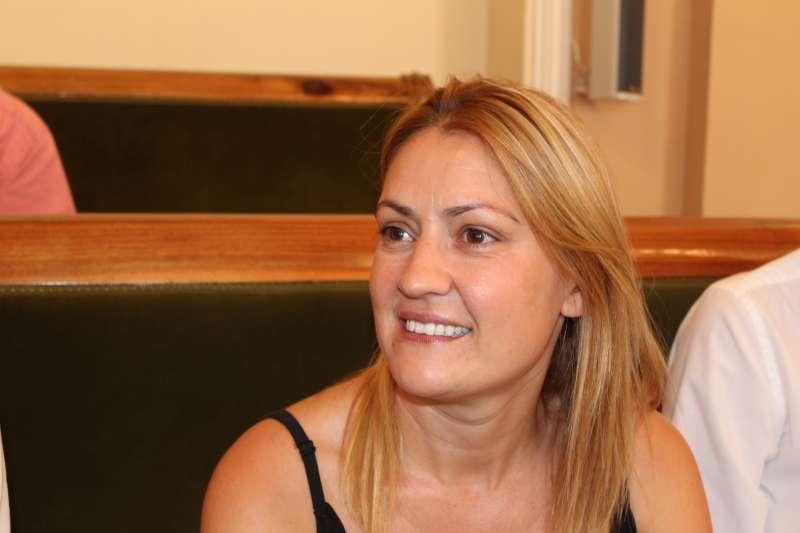La concejal de Ciudadanos en el Ayuntamiento de Castellón, Paula Archelós. EPDA