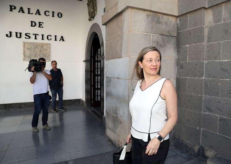 La magistrada y candidata al Congreso de Podemos por Las Palmas, Victoria Rosell. EFE/Archivo