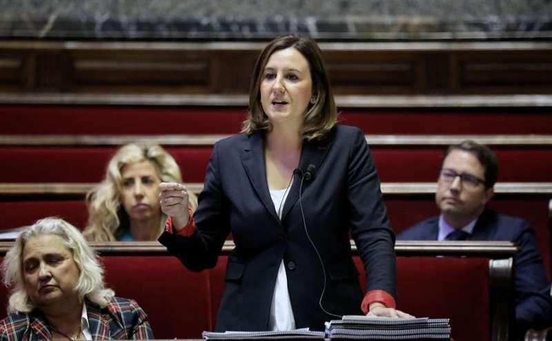 La Portavoz del grupo municipal del PPCV en el Ayuntamiento de València, Maria José Catalá.EFE