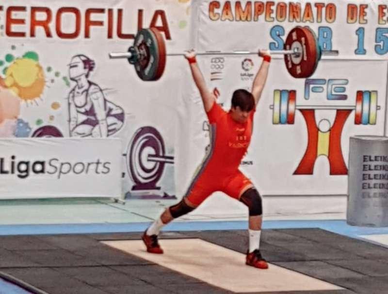 Sergio Manuera Jurado en el campeonato. -EPDA