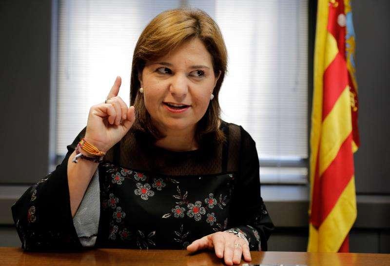 La presidenta del PP de la Comunitat Valenciana, Isabel Bonig. EFE/Archivo