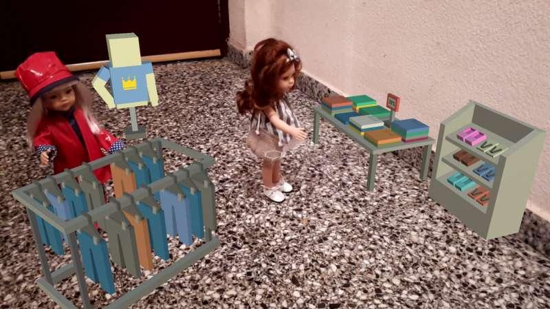 Imagen archivo de IA en algunos juguetes para niños. -EPDA