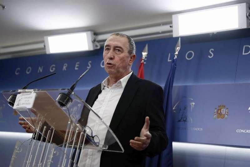 El diputado de Compromís en el Congreso, Joan Baldoví. EFE/Mariscal/Archivo
