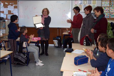 Homenaje a una profesora de Catarroja, Mercedes Raga. EPDA