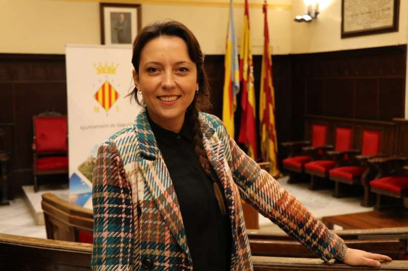 Presidenta del Consell Local Agrari, Gloria Parra. EPDA.