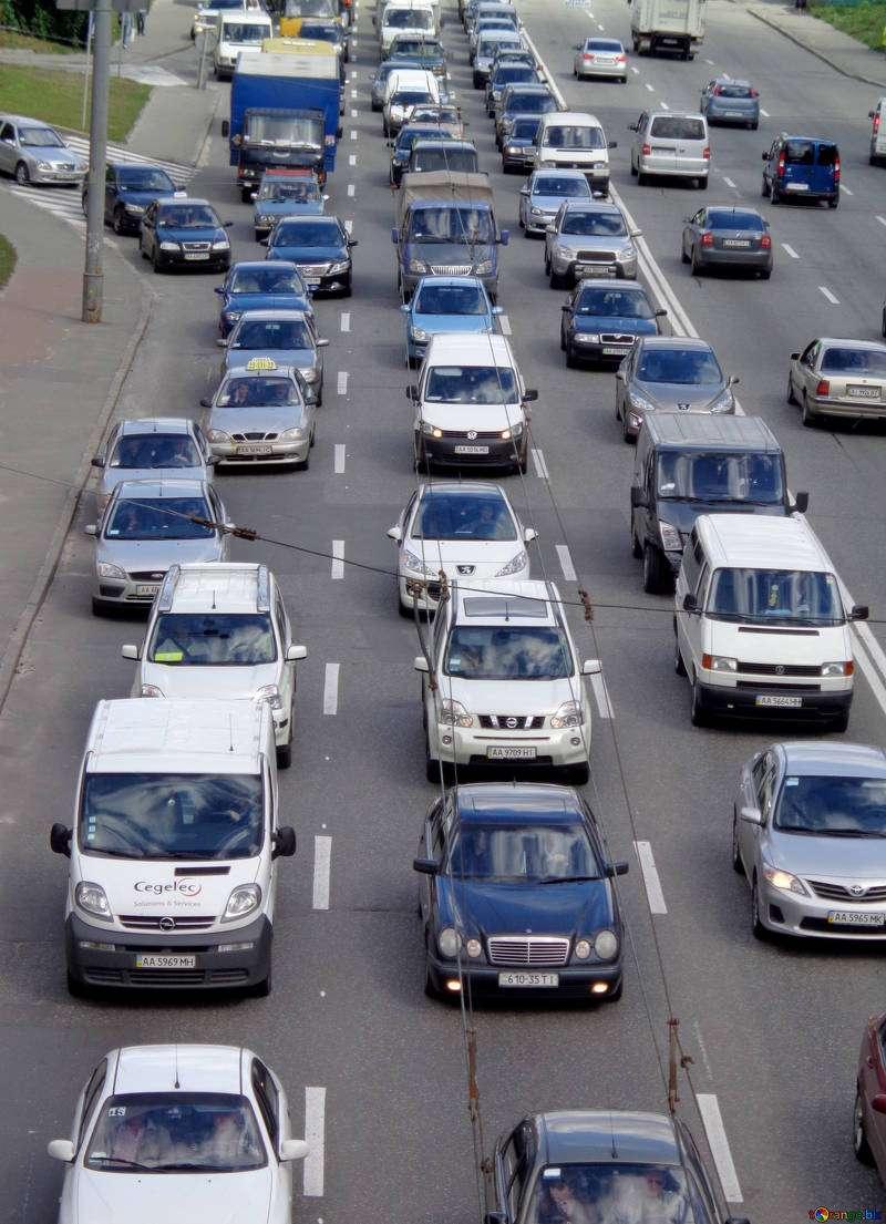 Ejemplo de congestión de tráfico. EPDA