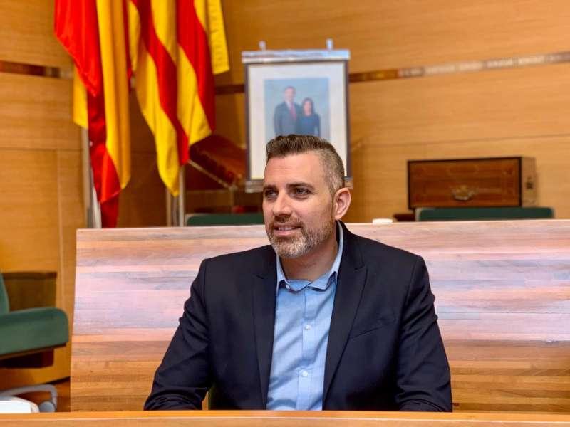 Jordi Mayor, diputado de Turismo. EPDA