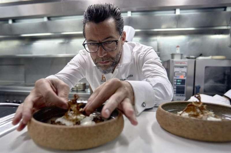 El cocinero Quique Dacosta. EFE/Natxo Francés