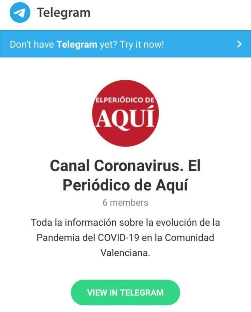 Canal Coronavirus. EPDA