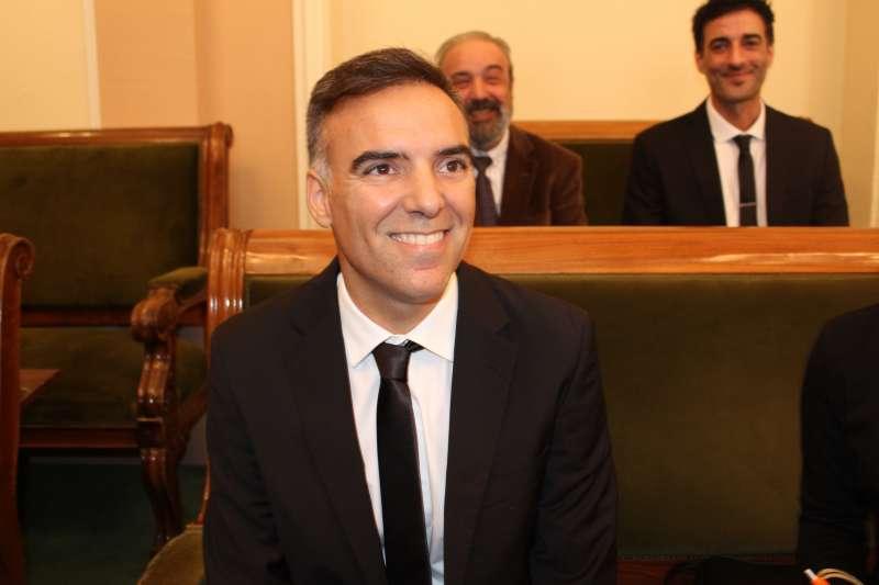 El portavoz de Ciudadanos (Cs) en Castellón, Alejandro Marín-Buck