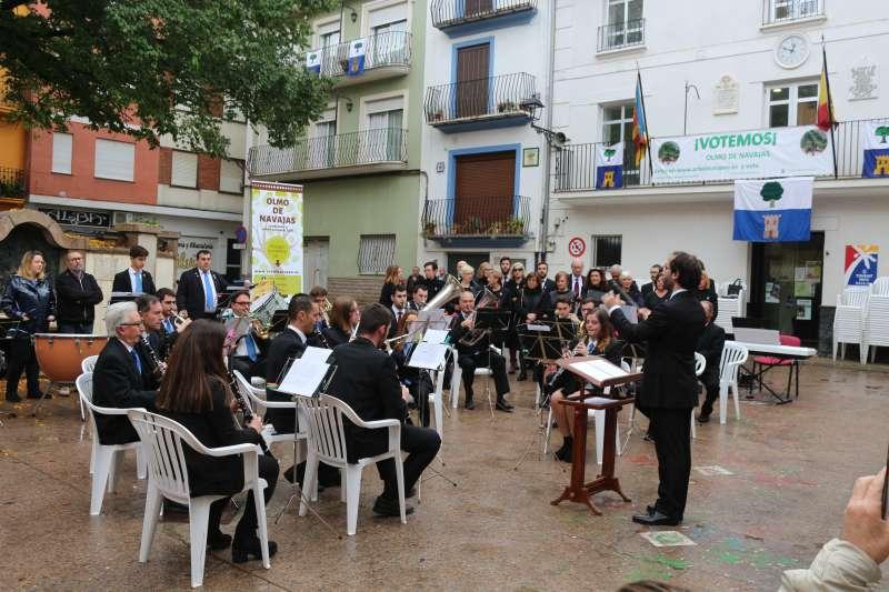 La banda de Navajas en una reciente actuación