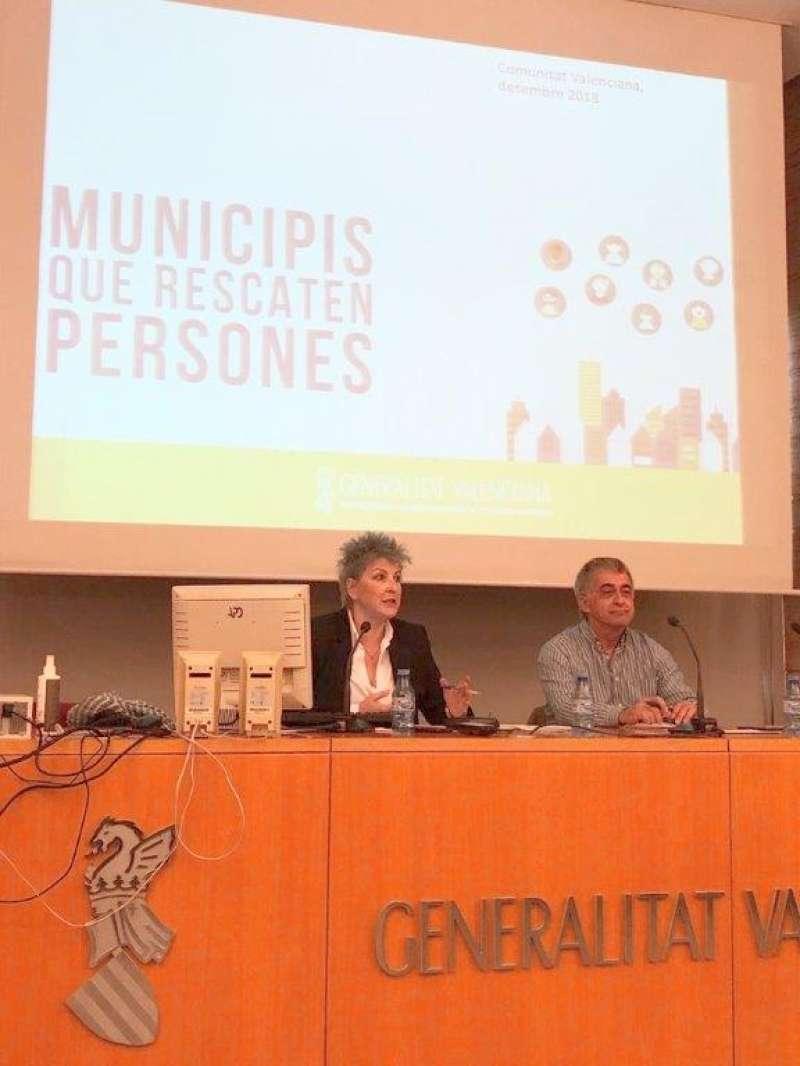 lA directora general de Servicios Sociales y Personas en Situación de Dependencia, Mercé Martínez