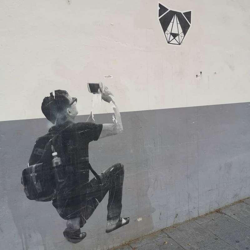 Homenaje al fotógrafo callejero. B. BUENO