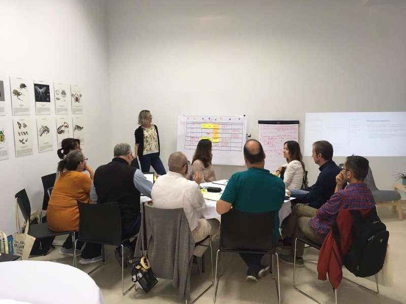 Participantes del seminario. EPDA