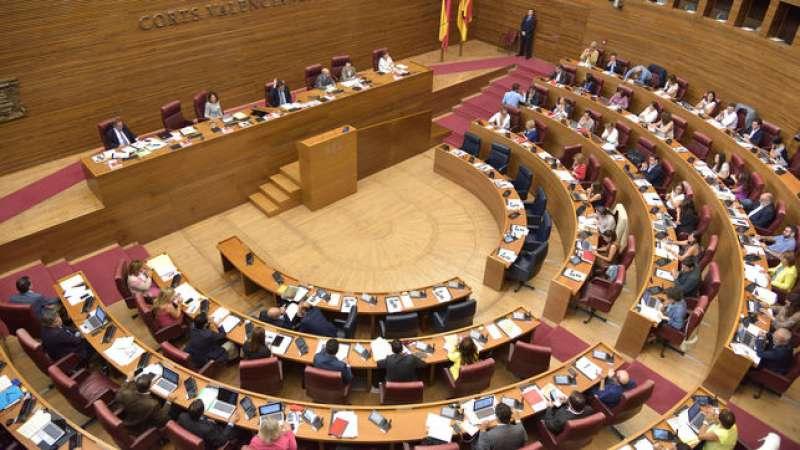 Les Corts Valencianes. FOTO EPDA