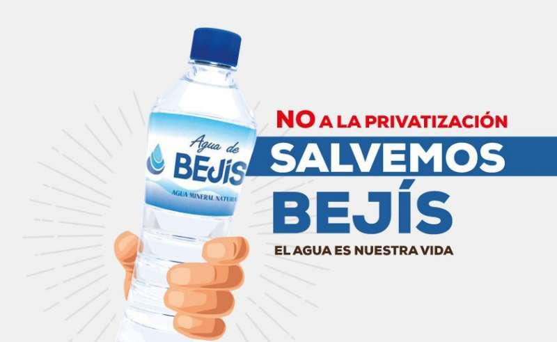 Campaña en contra de la privatización