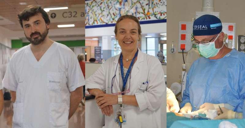 Investigadores del Hospital de Manises.
