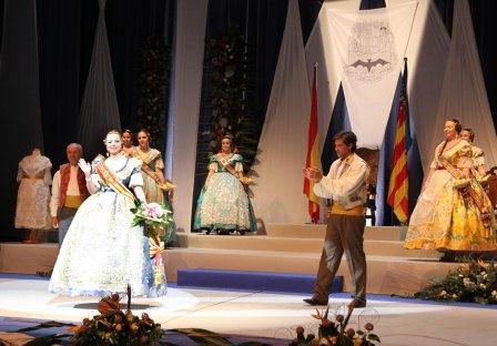Exaltación de las Falleras Mayores de Paterna 2014. EPDA