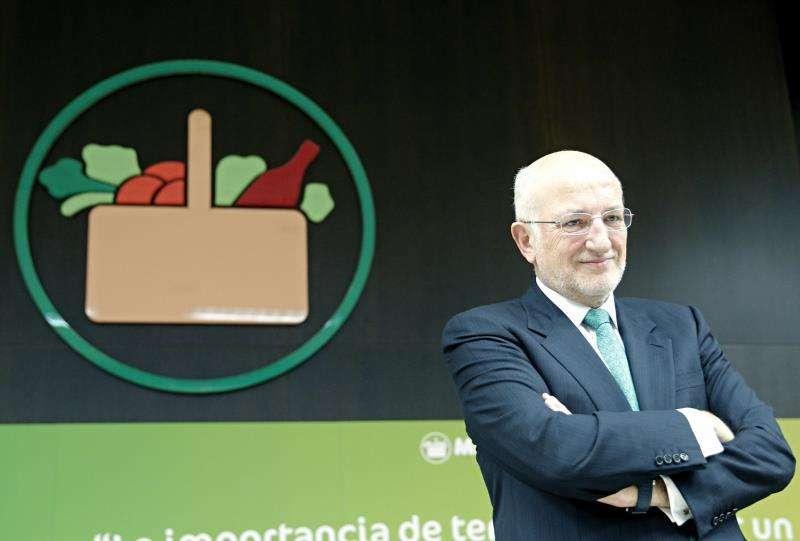 El presidente de Mercadona, Juan Roig. EFE/Archivo