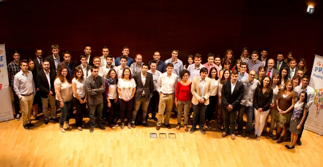 Imagen de los emprendedores. FOTO: GVA