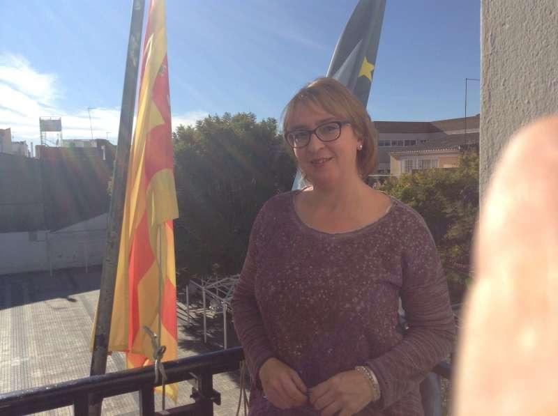 Eva Sanz, alcaldesa de Benetússer. EPDA