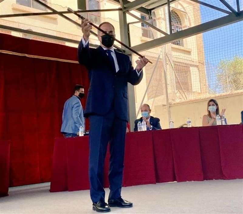 Santiago Román, nuevo alcalde de Sant Joan