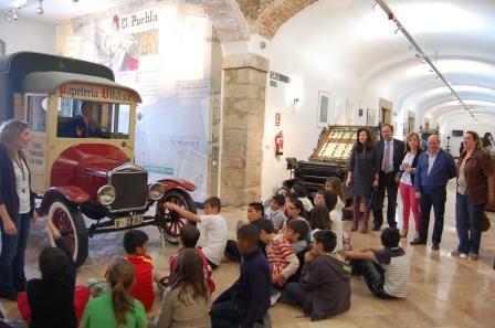 El Puig se ha adelantado un día para conmemorar el Día Internacional del Museo (17 de mayo) y lo ha hecho organizando visitas y talleres didácticos para los escolares del municipio. Foto: EPDA.