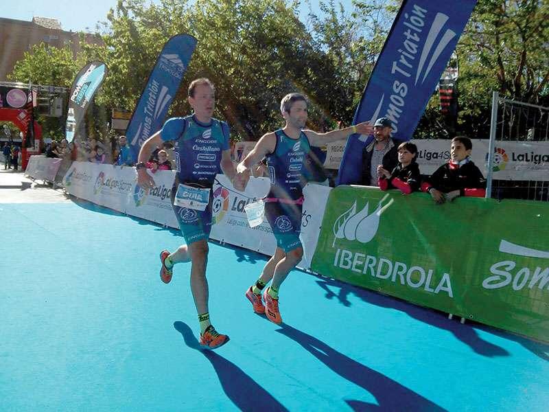 Català y Castellano en una de sus competiciones. EPDA