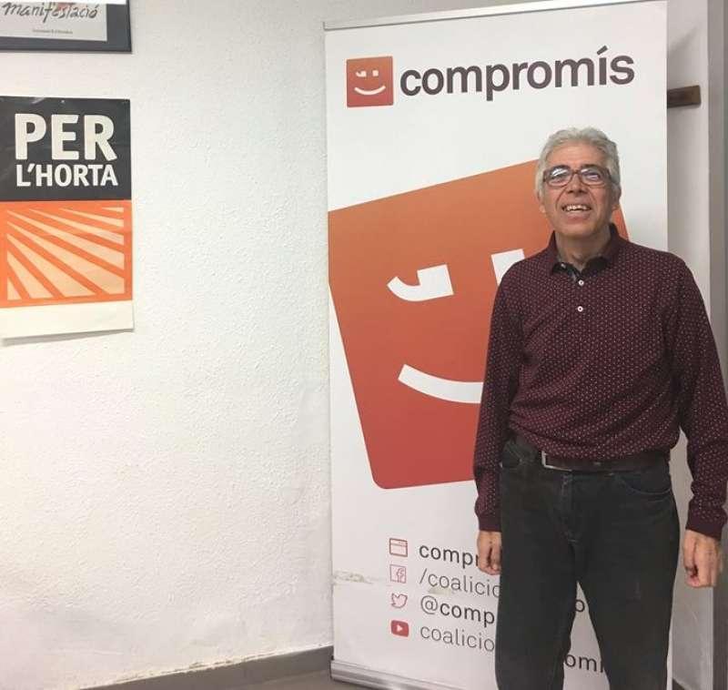 El portaveu de Compromís per Moncada, Pep Esplà. EPDA