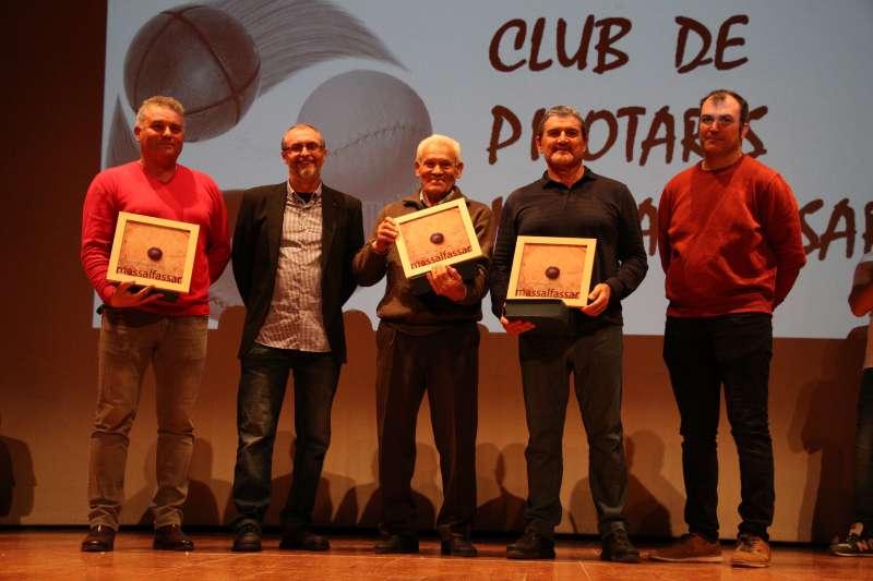 Acte del club de pilotaris de Massalafassar. EPDA