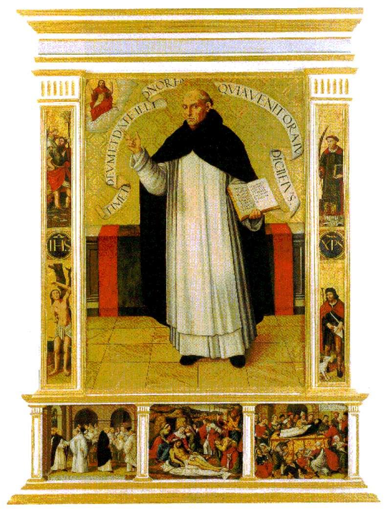 Retablo de San Vicente Ferrer de la Catedral de Segorbe