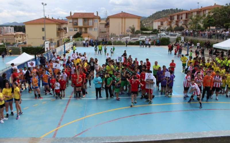 Las pistas de Colegio Virgen de Gracia acogieron la competición