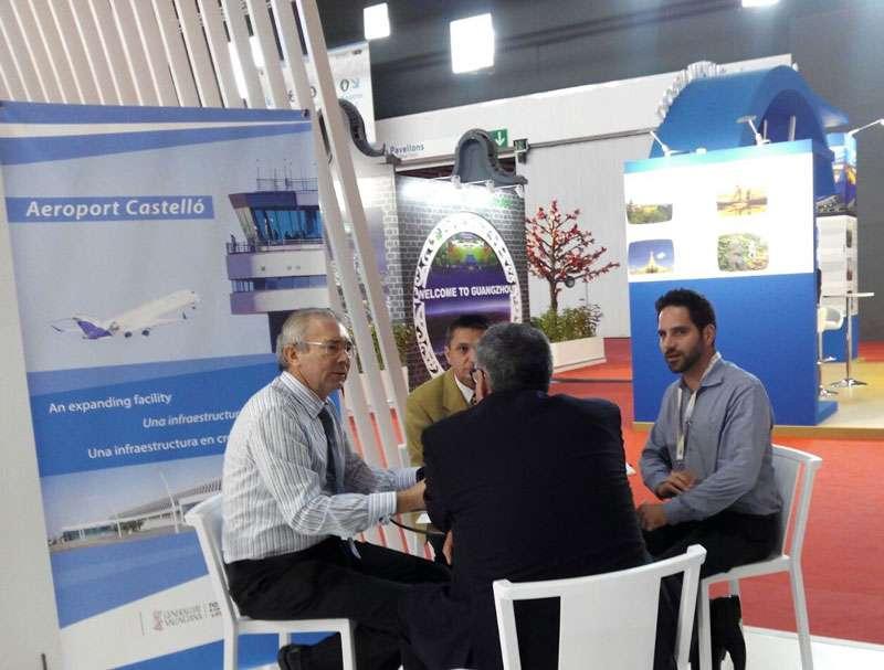 Imagen de la reunión sobre el aeropuerto de Castellón