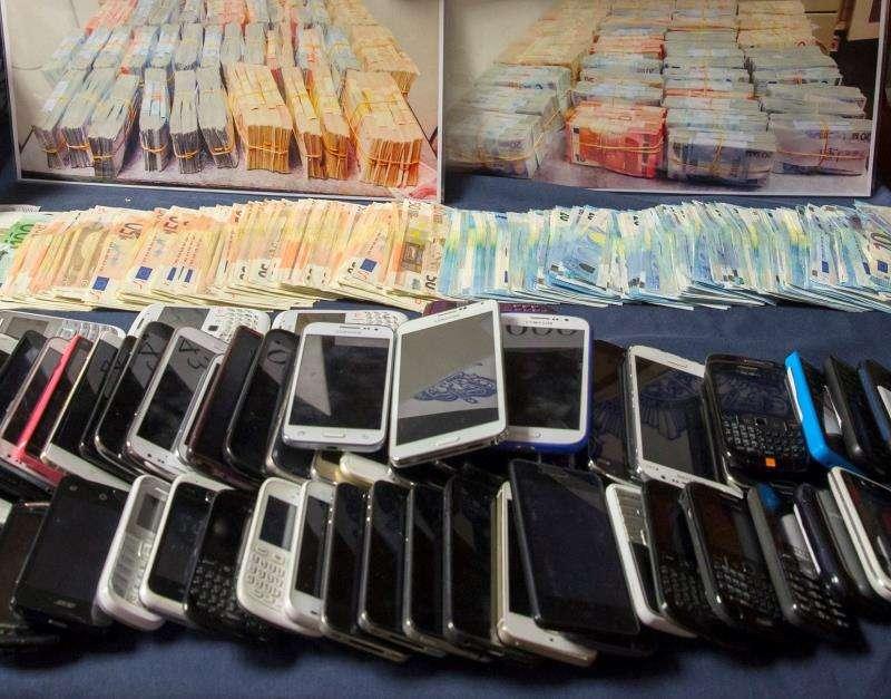 Parte de un alijo en una operación contra el fraude. EFE/Archivo
