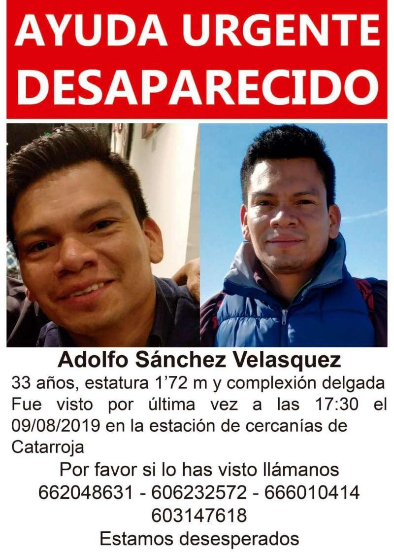 Datos del desaparecido. EPDA