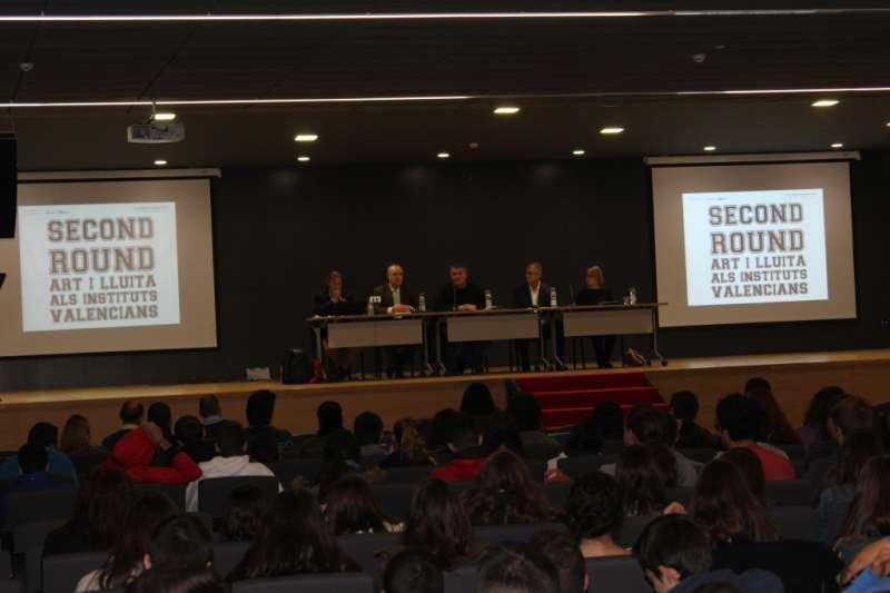 Un momento de la conferencia inaugural. //EPDA