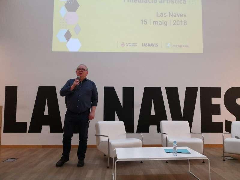 El director general del Institut Valencià de la Joventut, (IVAJ) Jesús Martí