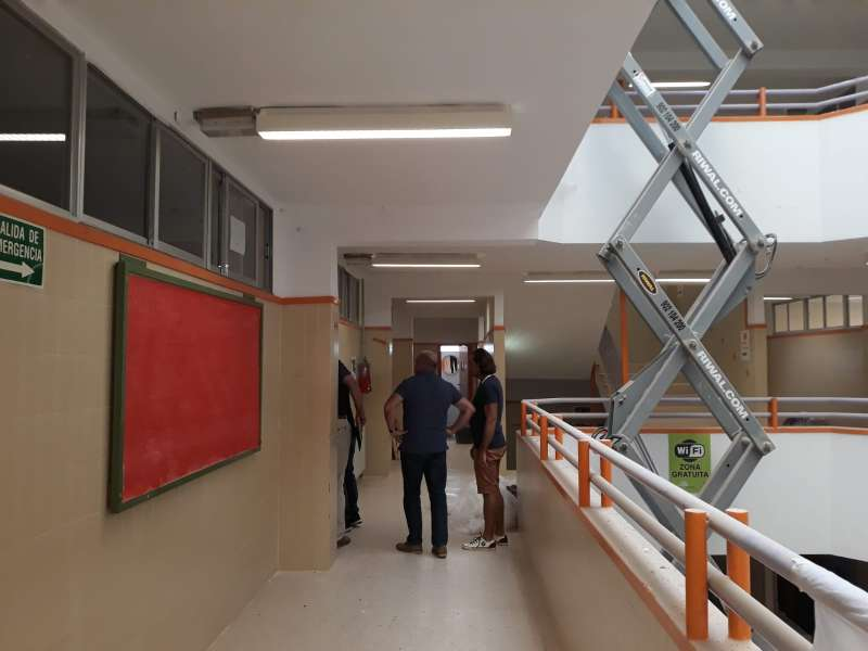 Instalaciones Colegio Luis Vives. EPDA