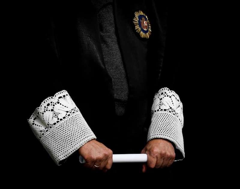 Imagen de un juez vestido con toga. EFE
