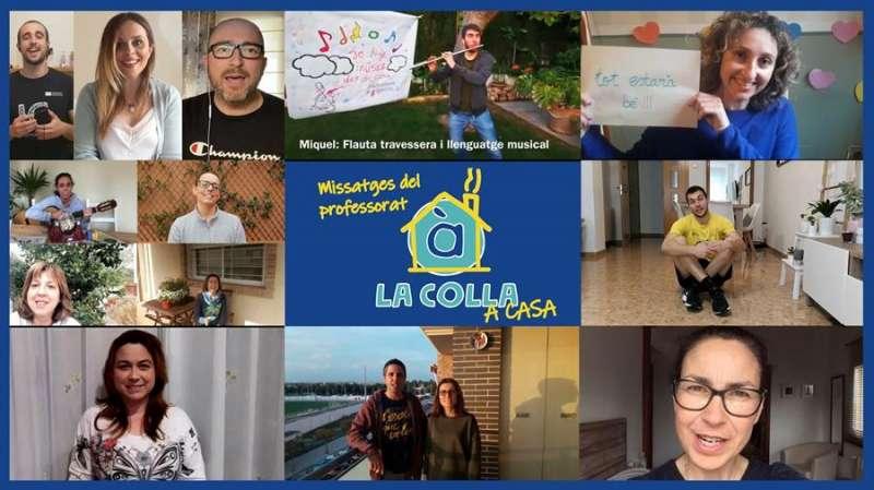 Imagen de La Colla a casa, facilitada por À Punt. EFE