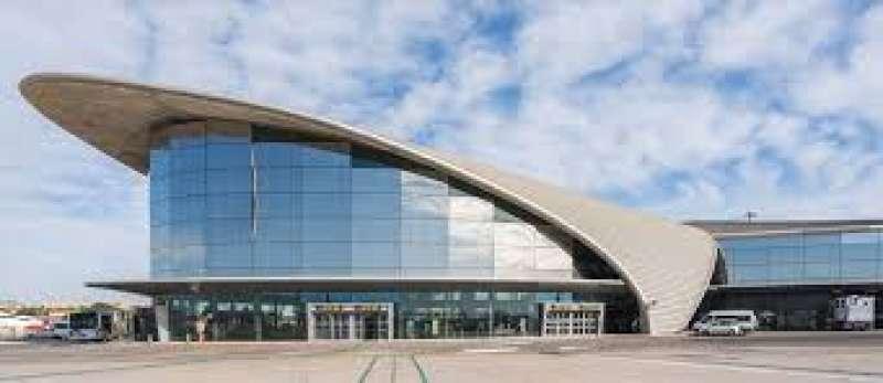 Terminal nueva del Aeropuerto de Manises.