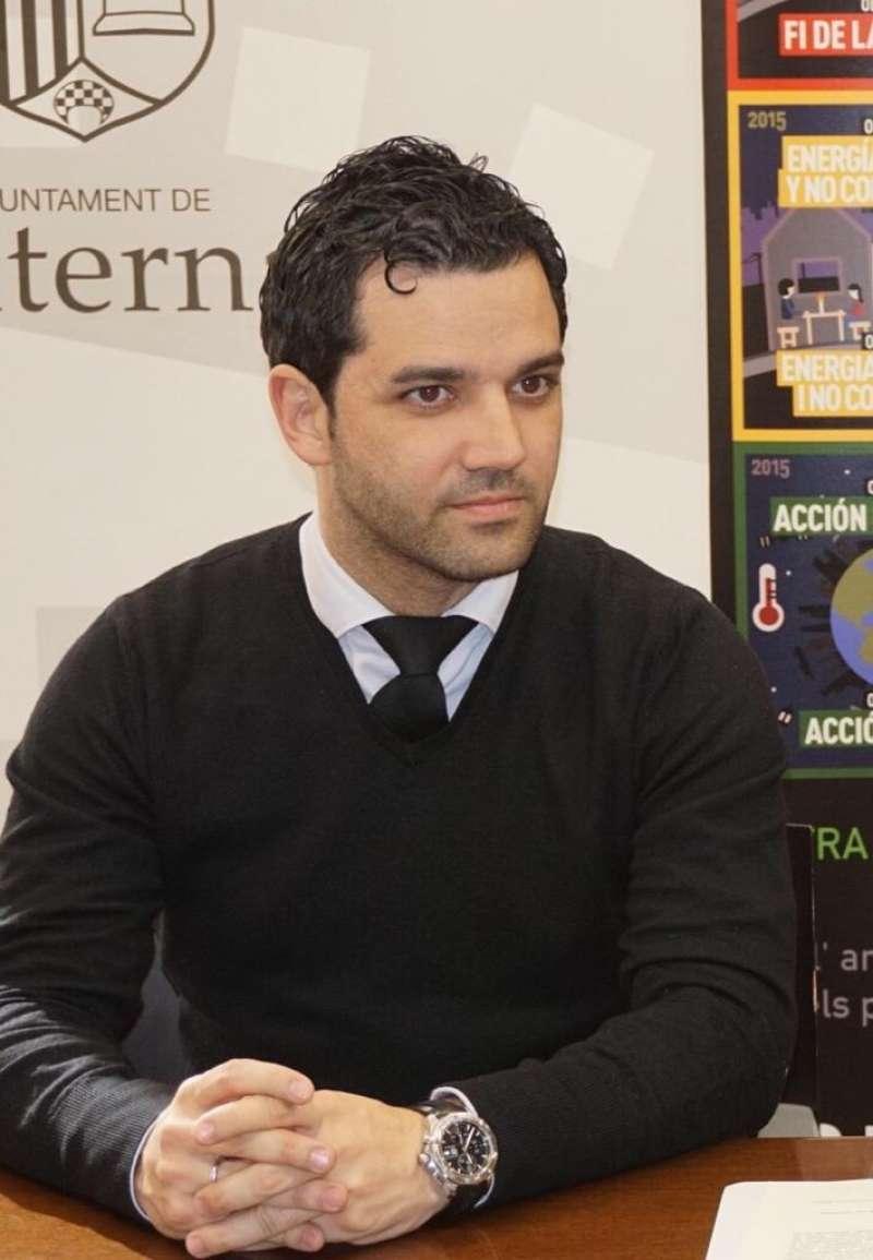 Juan Antonio Sagredo, alcalde socialista de Paterna. -EPDA