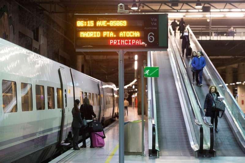 Línea de AVE entre Castellón y Madrid. EFE